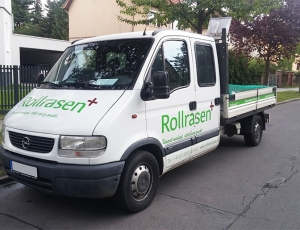 Rollrasen LKW Berlin